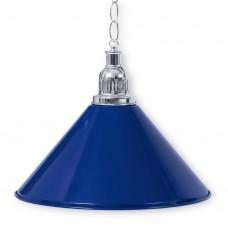 Светильник для бильярдного стола Prestige Silver Blue 1 плафон