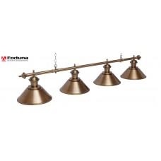 Светильник для бильярдного стола Fortuna Toscana Bronze Antique 4 плафона 8825