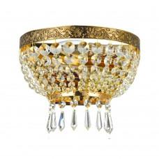 Хрустальная люстра Maytoni Tiara DIA500-WL-02-G золото антик