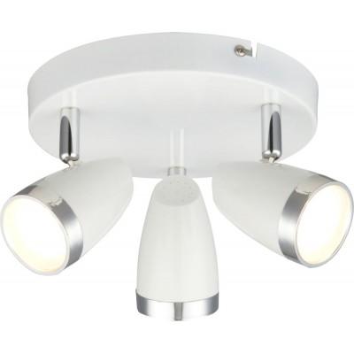 Светодиодный спот Globo 56109-3 Minou белый LED 3*4W