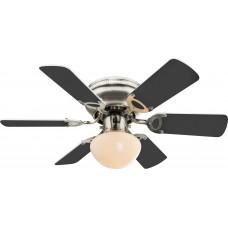 Люстра-вентилятор Globo UGO 0307W, матовый никель, E27, 1x60W