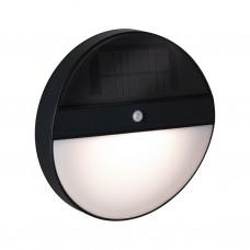 Уличный настенный светильник Paulmann Eloise 1Вт 50Лм 3000K IP44 Антрацит Солн.батарея ДД 94264