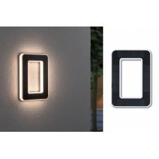 Уличный настенный светильник Paulmann Номер 0 LED 0.2Вт 3000К IP44 Пластик Солнечная батарея 79851
