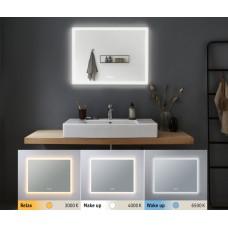 Зеркало Paulmann HomeSpa 22Вт 1600лм 2700-6500К IP44 LED 230В Подсветка Обогрев 800x600мм 93013