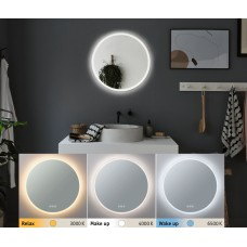 Зеркало Paulmann HomeSpa 21Вт 1580лм 2700-6500К IP44 LED 230В Подсветка Обогрев Круглое D600мм 78952