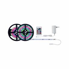 Лента светодиодная Paulmann SimpLED 15Вт 7.5м 230/12В RGB С покрытием Комплект ДУ 70514