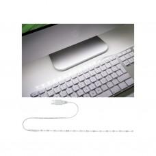 Лента светодиодная Paulmann 1.5Вт 60лм 6000К 5В Белый Металл/Пластик USB 30см 70455