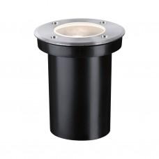 Светильник уличный встраиваемый в пол Paulmann Floor D110мм макс.10Вт GU10 LED IP65 230В Сталь 94390