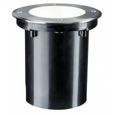 Встраиваемый светодиодный светильник Paulman Plug & Shine 3.3Вт IP67 3000K 24В Серебристый 93906