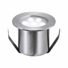98868 Светильник встраиваемый LED 4x0,6W IP 65 сталь