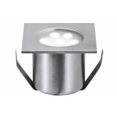 98871 Светильник встраиваемый LED 4x0,6W IP 65 сталь