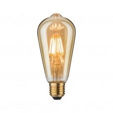Лампа филаментная Paulmann Vintage ST64 7.5Вт 550лм 2500К E27 230В Золото 28391