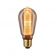 28599 Лампа LED ST64 Innenkolb ring 200lm E27 gold