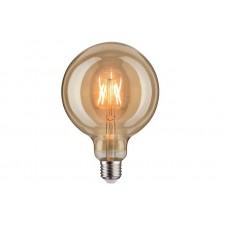 Лампа филаментная Paulmann Vintage Шар G125 6.5Вт 420лм 1700К Е27 230В Золото 28403