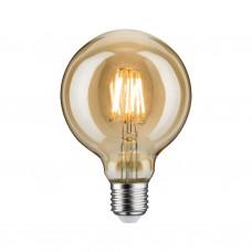 28521 Лампа LED Vintage Globe95 6W E27 Dim Gold 1700