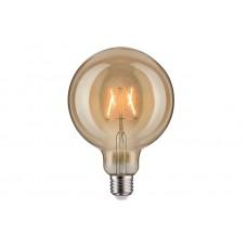 Лампа филаментная Paulmann Vintage Шар G125 2.5Вт 170лм 1700К Е27 230В Золото 28401