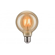 Лампа филаментная Paulmann Шар G95 2.5Вт 170лм 1700К Е27 230В Золото 28399