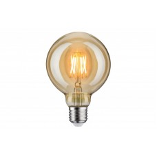 Лампа филаментная Paulmann Vintage Шар G95 6.5Вт 400лм 1700К Е27 230В Золото 28400