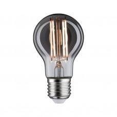 Лампа светодиодная Paulmann Vintage Стандартная 7.5Вт E27 230В Дымчатая Золотой свет Дим. 28604
