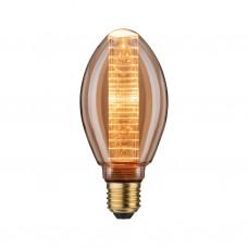 28601 Лампа LED B75 Innenkolb ring 200lm E27 gold