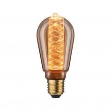 28598 Лампа LED ST64 Innenkolb spiral 200lm E27 gold