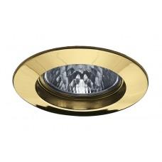 17948 Светильник встраиваемый Золото, 51мм, 50W