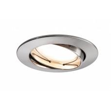 92777 Светильник Coin LED 1x6,5W 51mm sat schw eis-g