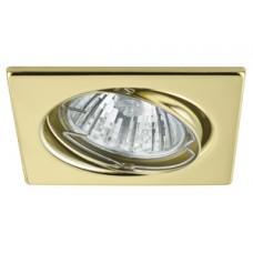 3371 Светильник -комплект Trend EBL Quadro schw 3x50W GU10, золото