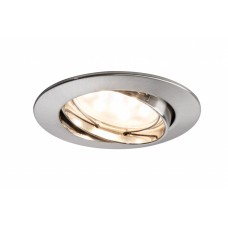 92767 Светильник EBL Coin LED 1x6,5W 51mm rund schw eis-g