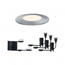 93949 Светильник Outd Plug+Shine Set 3x2,5W Boden EBL Sil