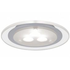 93543 Светильник мебельный Set Deco LED 3x3W 3000K 12VA 230V/350mA 100mm Chrom matt/Klar/Metall