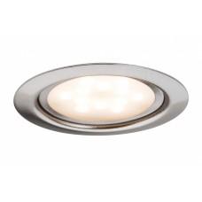 93553 Светильник мебельный комплект LED 3x4W 65mm,  железо шероховатое