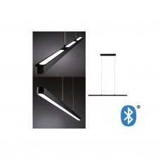 Подвесной светильник Paulmann Lento BLE LED 43Вт 1800Лм 2700-6000К 230В Черный Bluetooth 79694