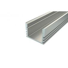 Профиль накладной алюминиевый Ledcraft LC-LP-1216-2 Anod