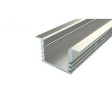 Профиль врезной алюминиевый Ledcraft LC-LPV-1222-2 Anod