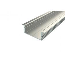 Профиль врезной широкий алюминиевый Ledcraft LC-LPV-1234-2 Anod
