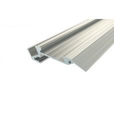 Профиль алюминиевый Ledcraft для ступеней с резиновой вставкой LC-PDS-1867-2 Anod