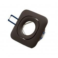 Светильник встраиваемый LeDron AO1501007 brown GU10 50 Вт Коричневый