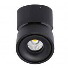 Потолочный светильник LeDron LH13W-Bl 3000K LED 13 Вт 3000К Черный порошковое покрытие
