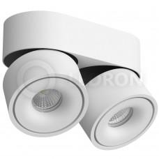 Потолочный светильник LeDron LH13 2 White LED 2*13 Вт 3000К Белый порошковое покрытие