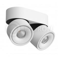 Потолочный светильник LeDron LH8 2 White LED 2*8 Вт 3000К Белый порошковое покрытие