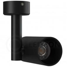 Потолочный светильник LeDron CSU0609-9W-BL LED 9 Вт 3000К Черный порошковое покрытие