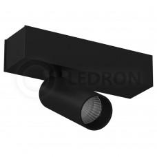 Потолочный светильник LeDron SAGITONY-S40-Black LED 9,2 Вт 3000К Черный порошковое покрытие