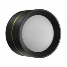 Потолочный светильник LeDron BARREL MINI Black LED 12 Вт 3000К черный