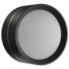 Потолочный светильник LeDron BARREL Black LED 18 Вт 3000К черный