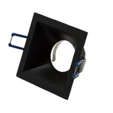 Светильник встраиваемый LeDron AO1501012 black GU10 50 Вт Черный