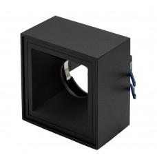 Светильник встраиваемый LeDron AO1501018 black GU10 50 Вт Черный