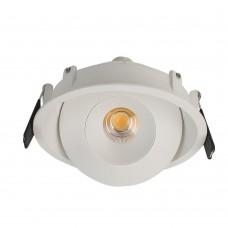 Светильник светодиодный LeDron KRIS IN White LED 15 Вт 3000К Белый/Белый порошковое покрытие