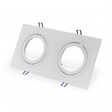 Светильник встраиваемый LeDron AO321 G53 15 Вт Белый