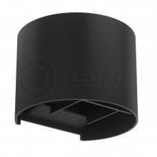 Настенный светодиодный светильник LeDron BCS-WL2017B LED 2*3 Вт 3000К Черный